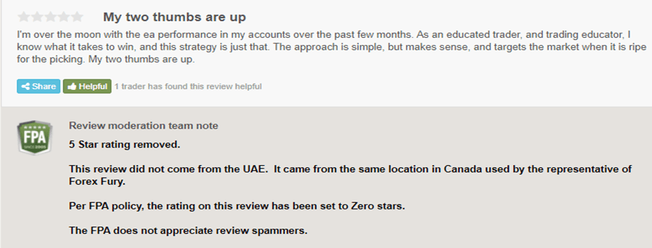 There are a few of the reviews