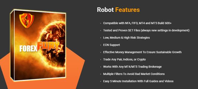 Robot features