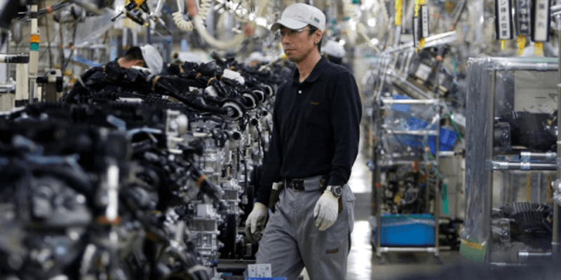 Japan's Manufacturing and Services Activity Downturn Accelerates in June