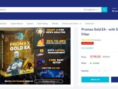 Promax Gold EA image