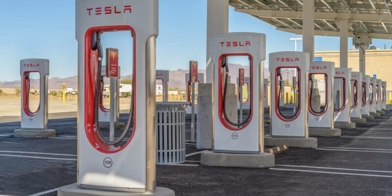Tesla Opens Its First Solar Charging Station in China's Sunny Region