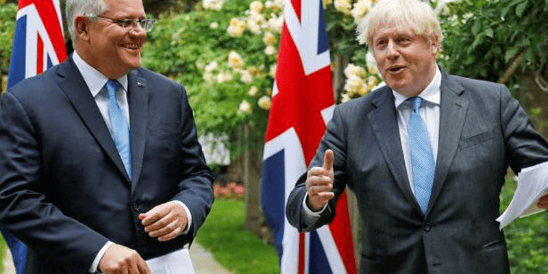UK and Australia Trade Agreement in Final Stages