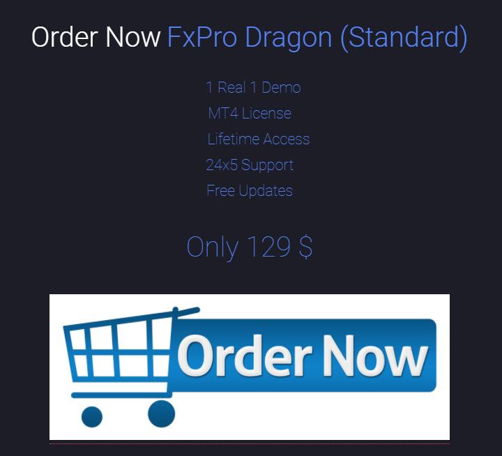 FXPro Dragon Pricing