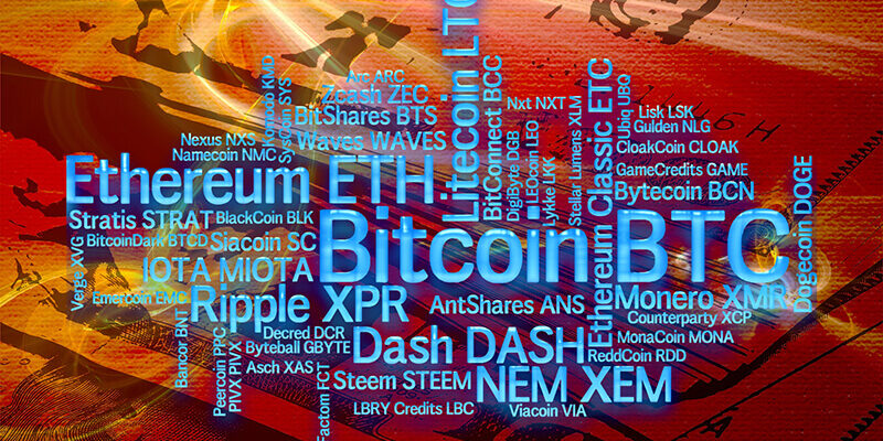 Crypto-currencies with a capitalization