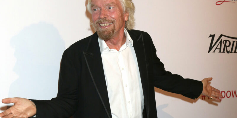 Sir RIchard Branson at the Power Up Gala