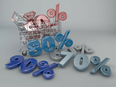 Sales in the basket