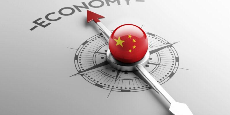 China High Resolution Economy Concept