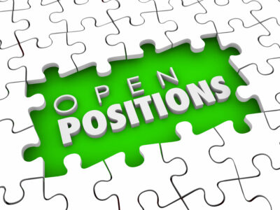 Open Positions words in a puzzle