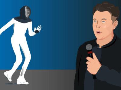 Tesla CEO Elon Musk unveils the Tesla Bot. The humanoid robot . Washington DC, CNN Business, Aug 19, 2021