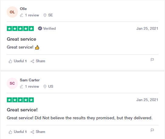 User reviews for OHLSEN TRADING on Trustpilot